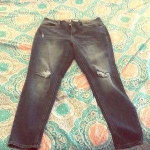 Dollhouse Skinny Dark/Medium Wash Jeans ⭐️⭐️